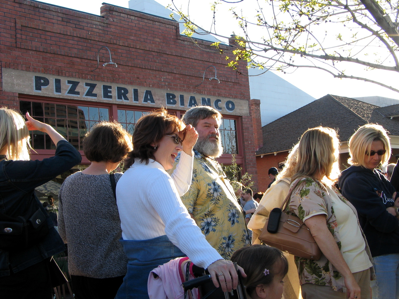 """Pizzeria Bianco (Heritage Square, downtown Phx) - February 2005: Believe or not, it is rated the best pizze in the U.S. (Reference: <a href=""""http://www.azcentral.com/ent/dining/articles/0214pizza14-CP.html"""">http://www.azcentral.com/ent/dining/articles/0214pizza14-CP.html</a>).  At  least 50 people waiting for the pizzeria to open at 5 p.m."""