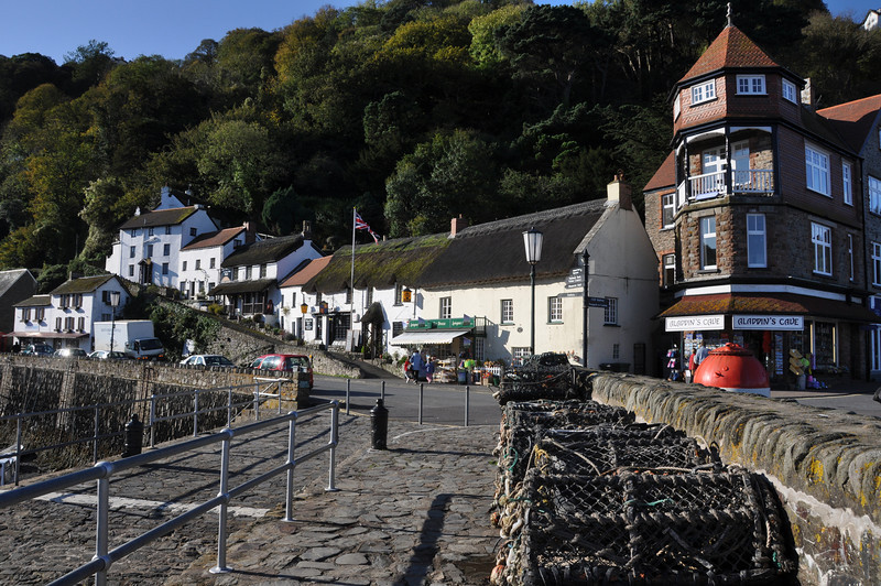 Lynmouth, Devon (low tide)