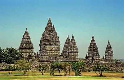 Prambanan Temple, Yogyakarta, Indonesia-1997