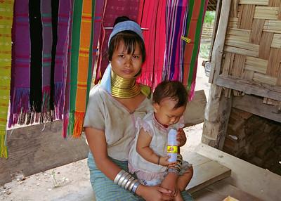 Kayan Lahwi Woman, Mae Hong Son, Thailand-2000