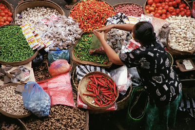Ubud Market, Bali, Indonesia-1997