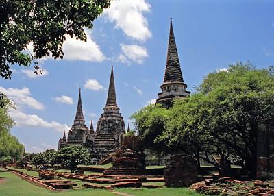 Ayutthaya, Thailand-2000
