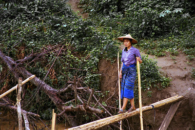 Mae Hong Son, Thailand-2000