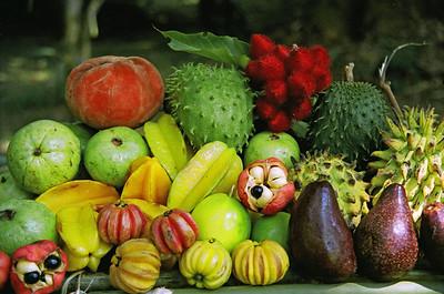 Tropical fruit, Sabah, Malaysia-1997