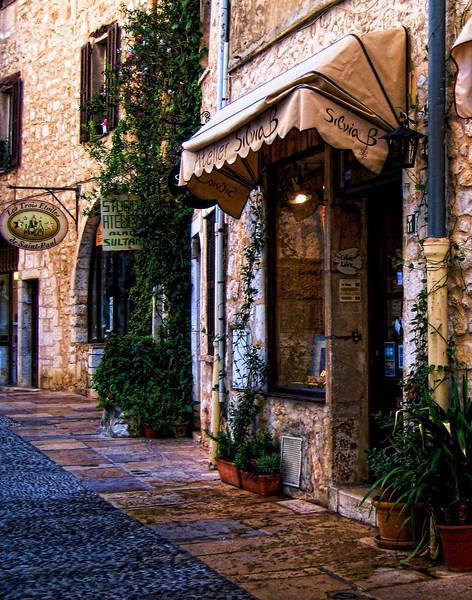 Atelier Sylvia B, St. Paul de Vence, Provence
