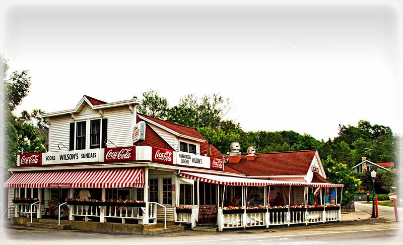 Wilson's in Ephraim, WI in Door County, a very popular place.