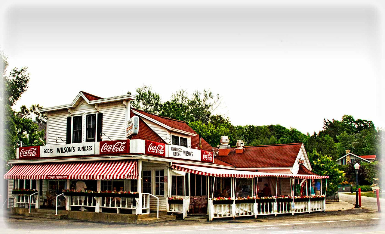 Wilson's in Ephraim, WI in Door County, a very popular place.