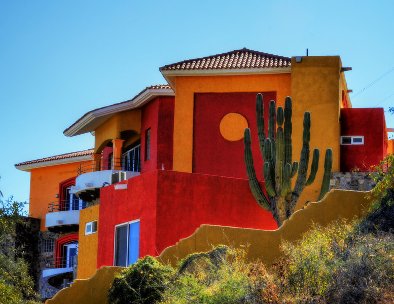 Home on hill, Las Barrilles, Los Cabos