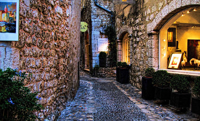 Gallery, St. Paul de Vence, Provence