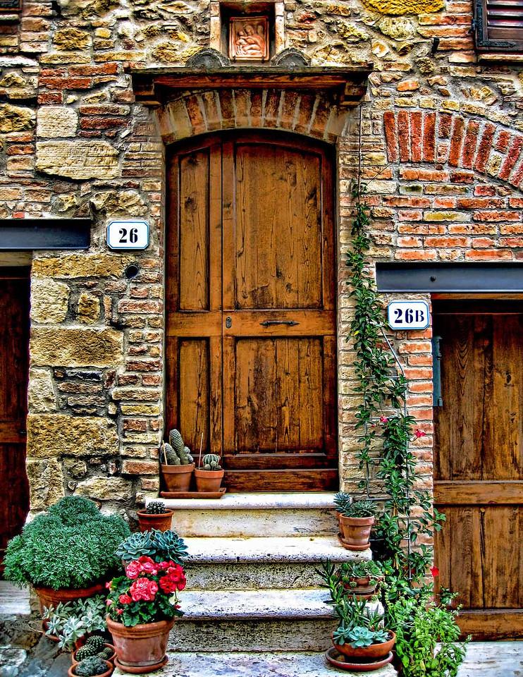 Tuscan door 2