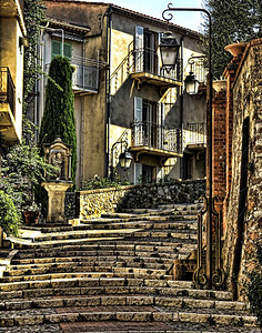 Stairway, Cannes, Provence