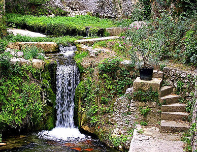 Water, Fountaine-de-Vaucluse, Provence