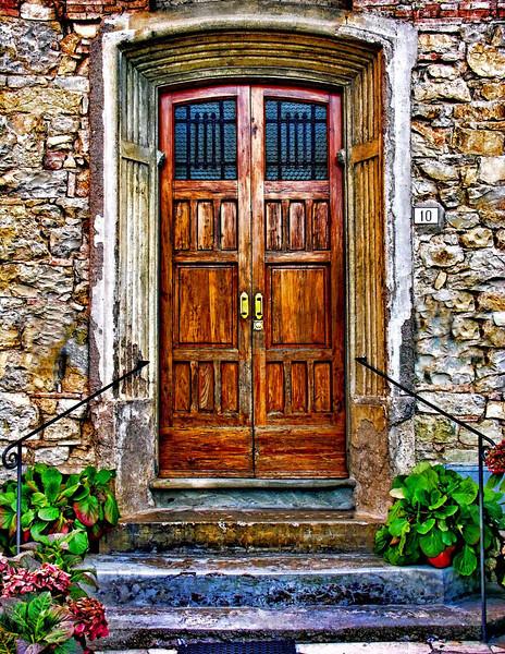 Tuscan Door 1