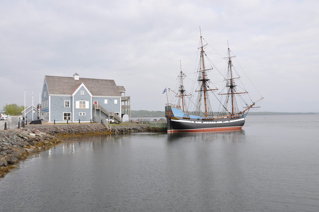 The tall ship Hector