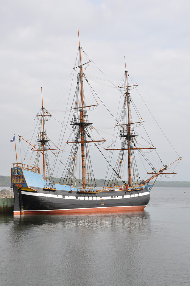 The Tall Ship Hector.