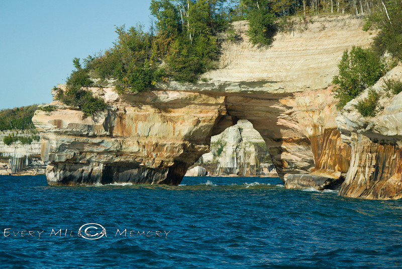 One of the Bigger Arches along the Pictured Rocks Lakeshore