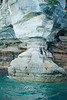 Big Pillar carved by Mother Nature - Pictured Rocks Lakeshore