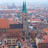 Nurnberg from the Castle's Tower.