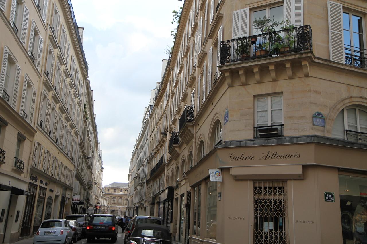 A typical parisian block