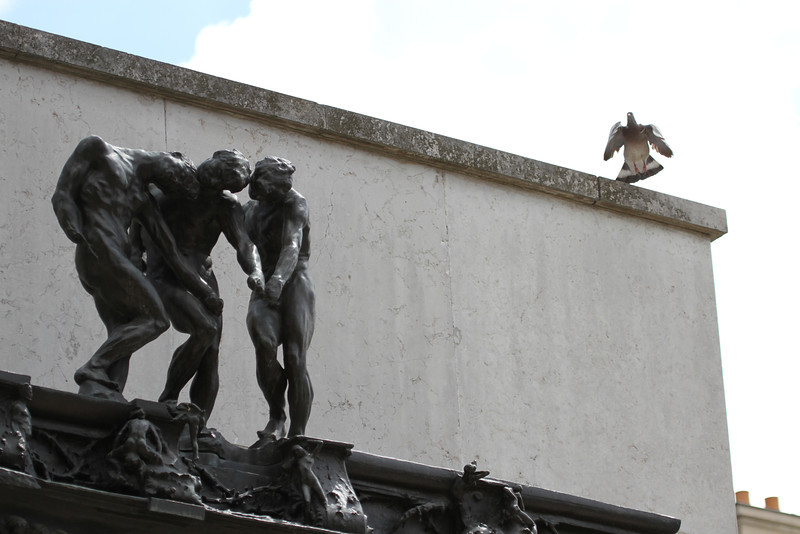 Hiding about Rodin's 'Gates of Hell'
