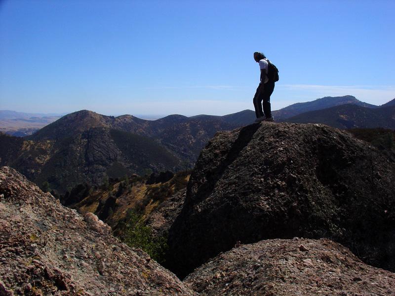 Prasanth surveying the land down under