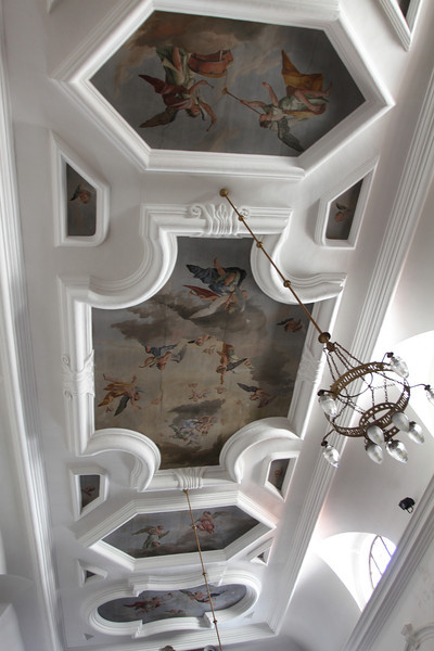 Ceiling frescoes of Church of St. Francis Assisi