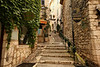 Steps inside St. Paul de Vence. More from there later in this gallery.