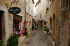 Tight streets add a lot of charm to St. Paul de Vence, but they cramp the 2.5 million tourists that come here each year..