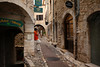 St. Paul de Vence is a maze of multi-level streets and alleys. 300 people call it home.
