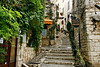 This often-photographed stairway in St. Paul de Vence connects the upper streets to the lower levels.