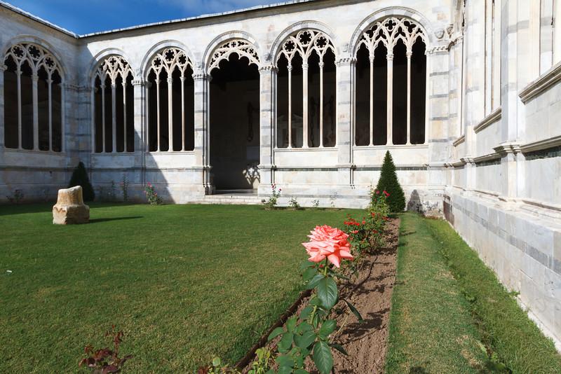 Im Camposanto Monumentale der Friedhof des Doms von Pisa