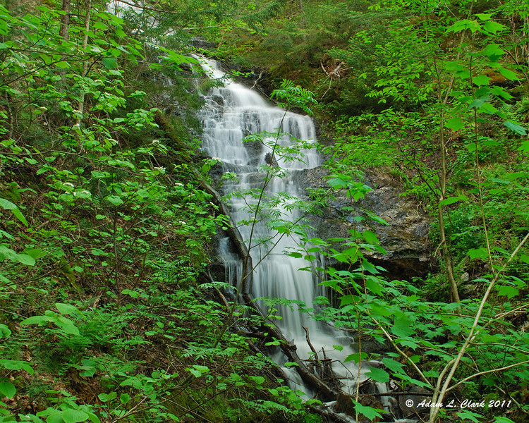 A possibly unamed waterfall that my uncle found while hunting one time