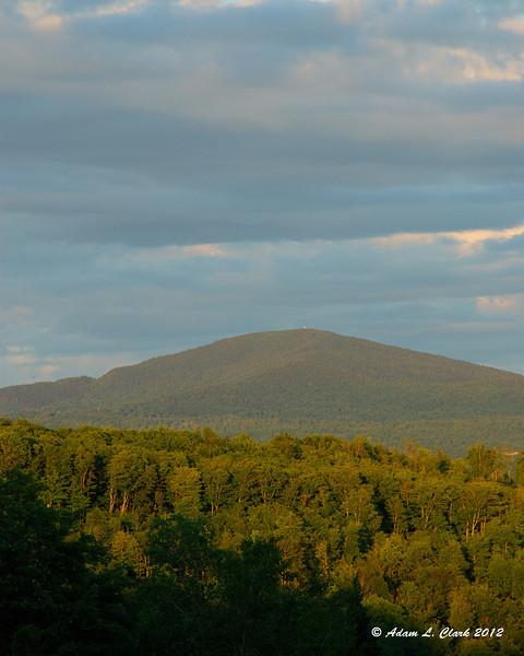 Mt. Magalloway near sunset