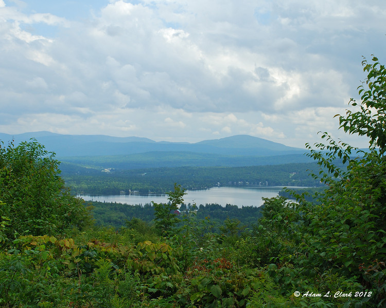 Back Lake from an ATV ride on Shatney Mtn