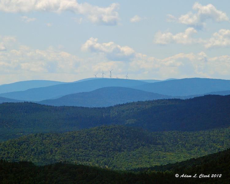 More windmills on Dixville Peaks