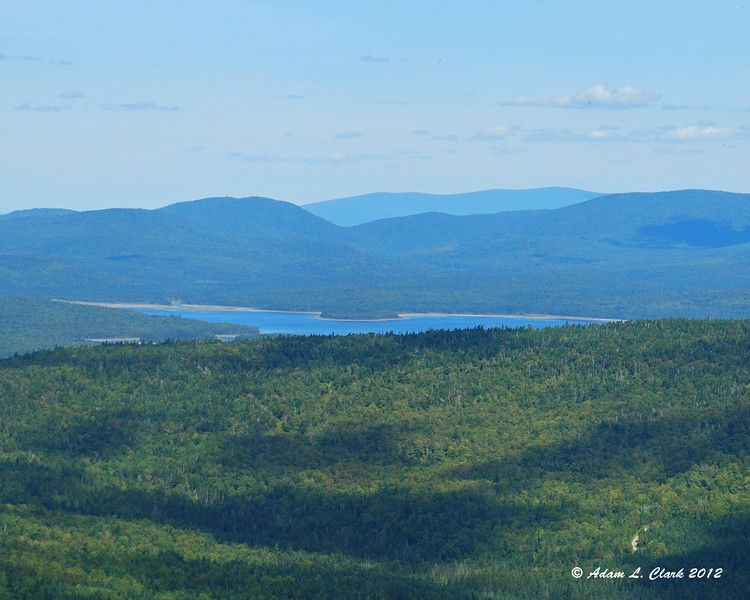 Second CT Lake seen from Mt. Magalloway