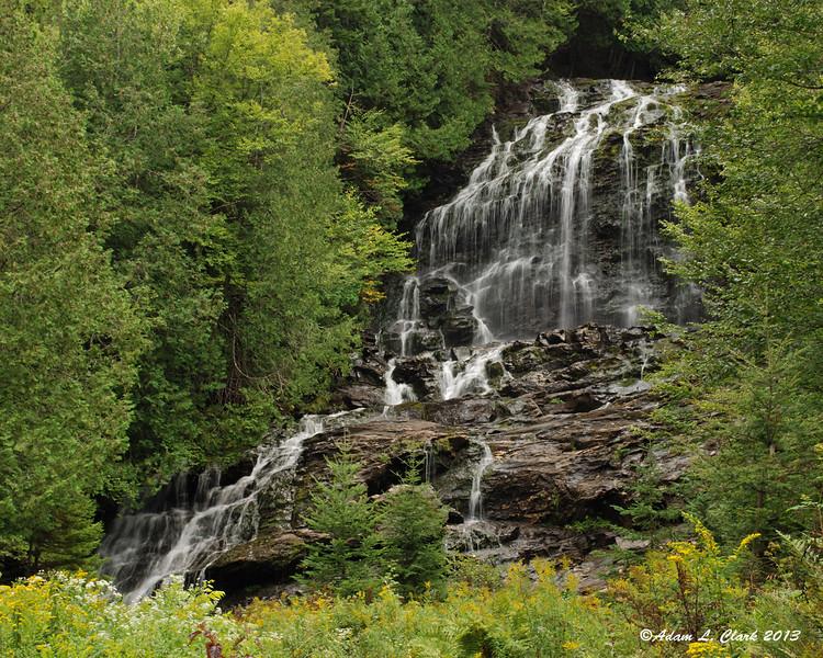 Beaver Brook Falls in Colebrook