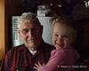Great grandpa holds Liliana