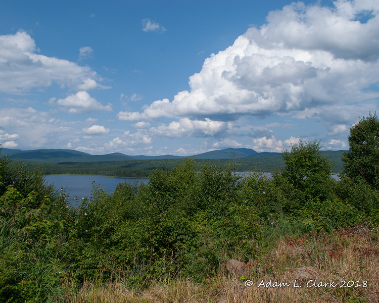 View of Second Connecticut Lake from a piece of land for sale