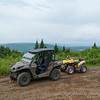 My father, brother, and I went for an ATV ride down to the Colebrook area