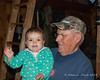 Madison and Grampy Russell