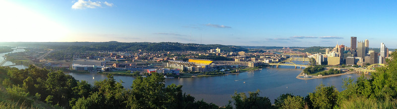 Pittsburgh, The Point and the Rivers