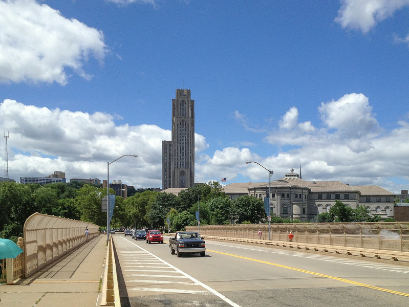 The Cathedral of Learning and Carnegie Museum and Library