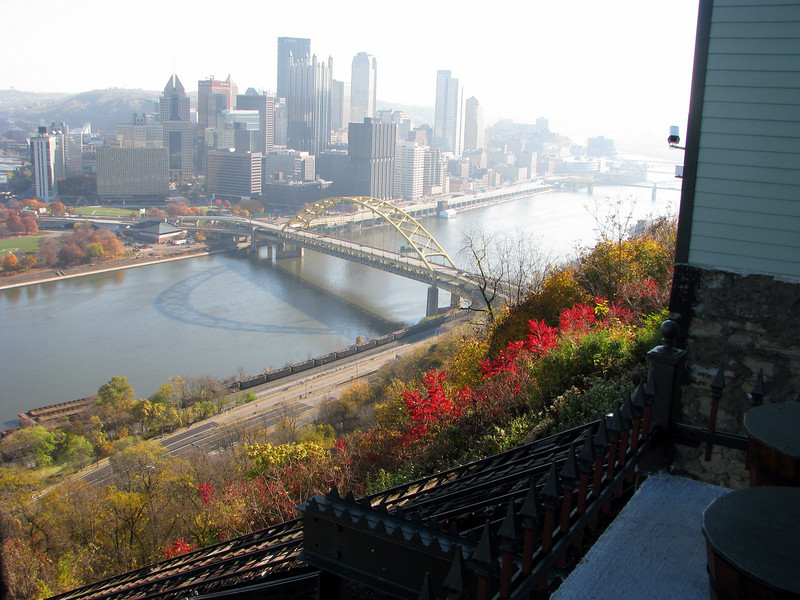 View of Pittsburgh from the Duquesne Incline
