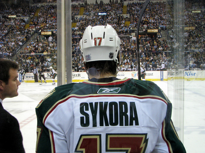Petr Sykora in the Penalty Box