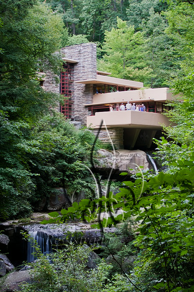 Frank Lloyd Wright's Fallingwater (1939), Mill Run, PA