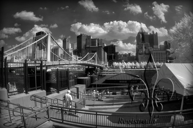 outside PNC Park