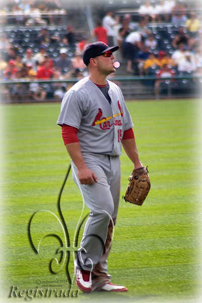 Matt Holliday, bubble gum Card
