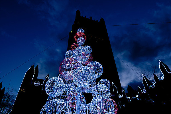 Lights in Market Square, November 2012