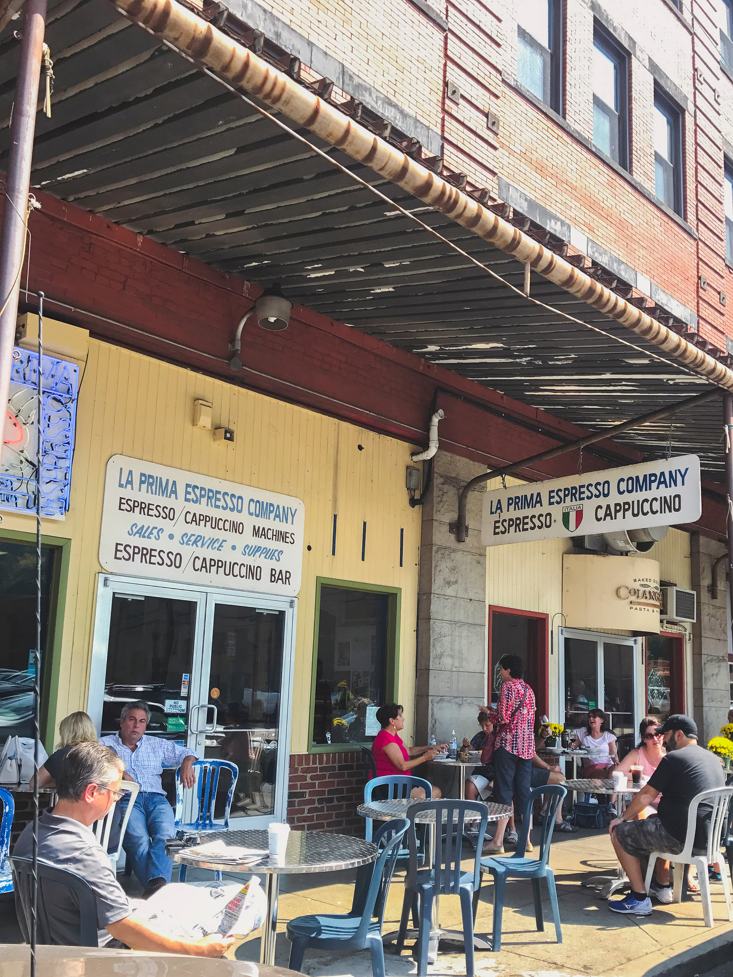 Where to Eat in Pittsburgh includes a stop at La Prima Espresso Company for coffee with locals.
